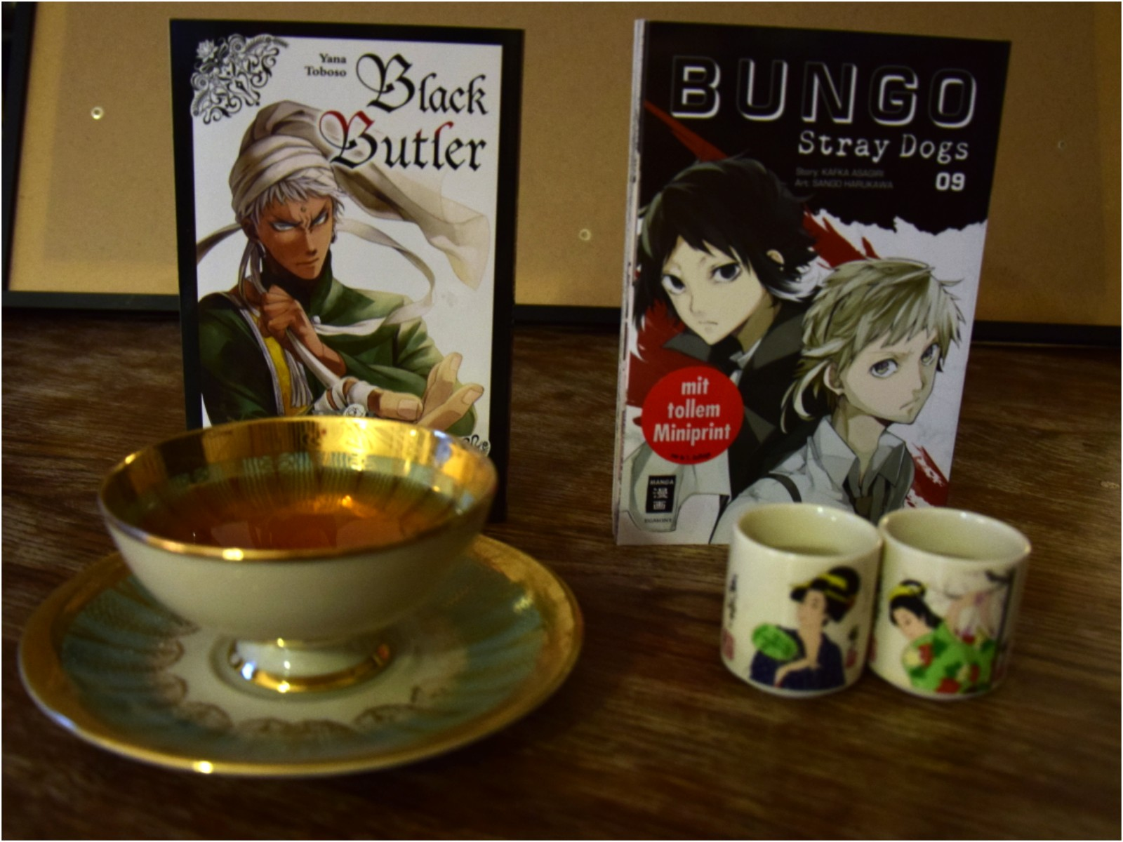 Black Butler und Bungou stray dogs Manga