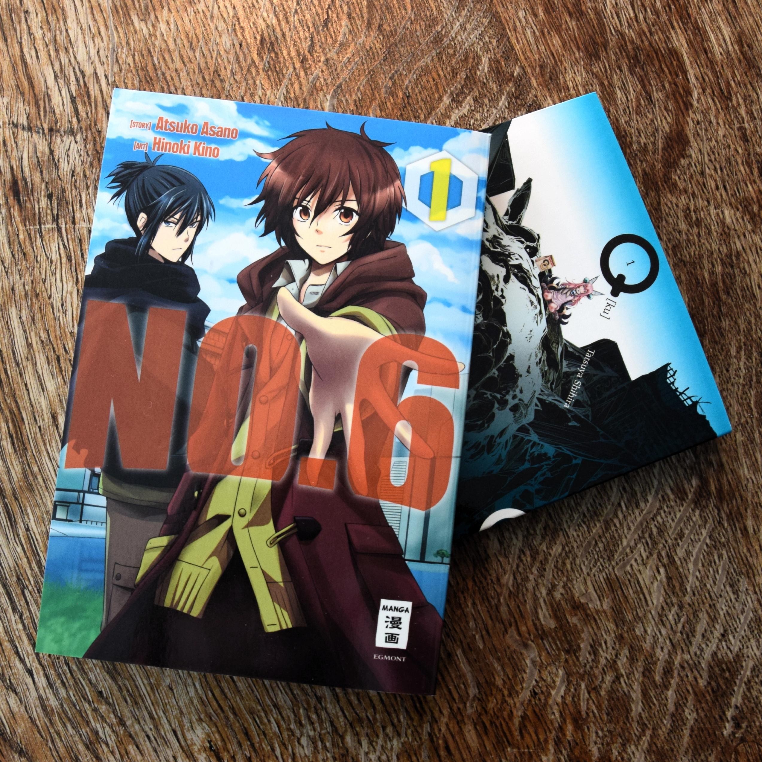 No. 6 und Q Manga